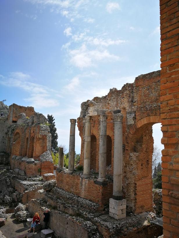 Teatro greco di Taormina.