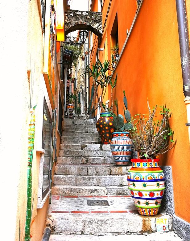 Taormina, centro storico.