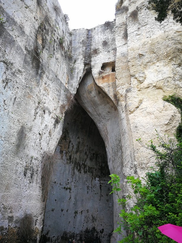Orecchio di Dionisio, sito archeologico Siracusa.