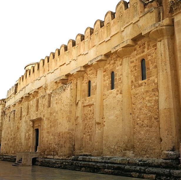 Il Tempio di Giove inglobato nel Duomo di Siracusa.