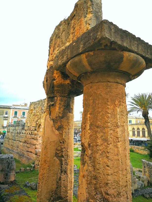 Tempio di Apollo, Ortigia.