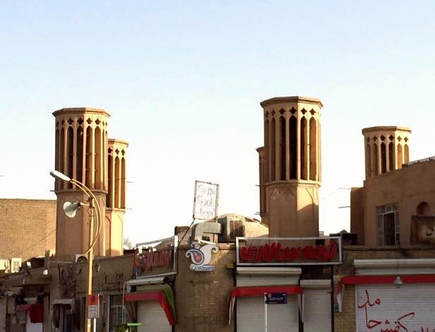 Yazd, le torri del vento (badghir in persiano)