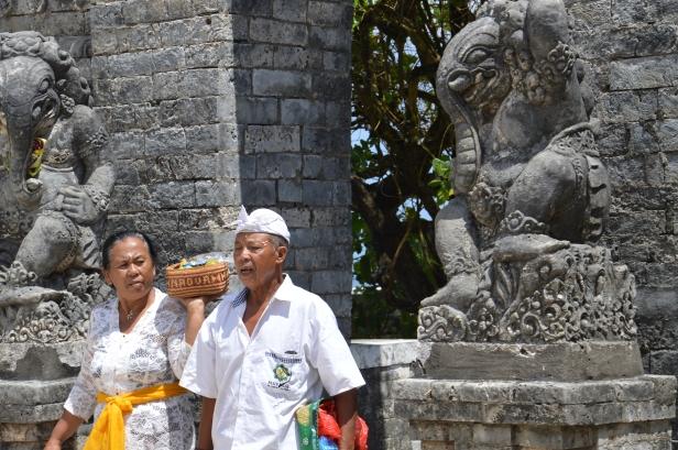 Tempio di Uluwatu.