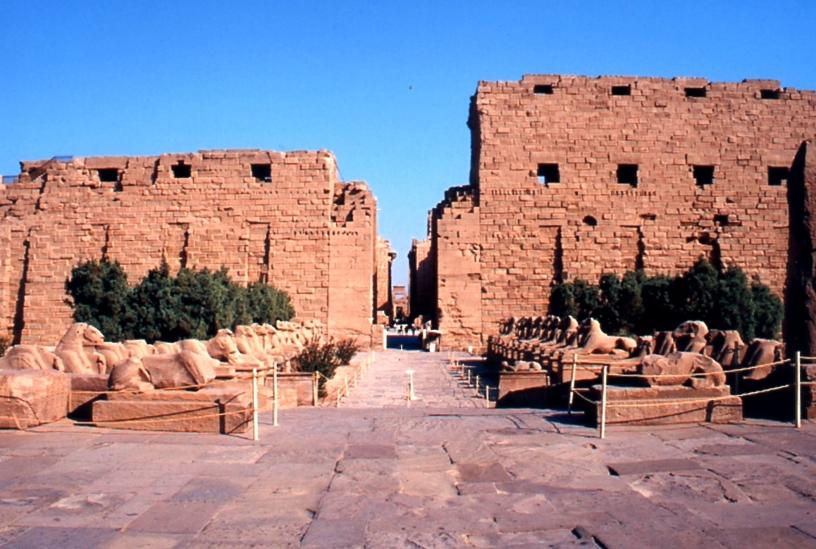 Grande tempio di Amon a Luxor.