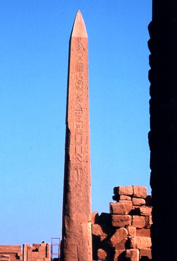 Obelisco a Luxor.