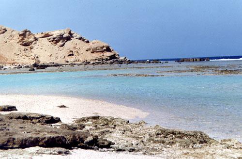 Marsa Alam spiaggia.