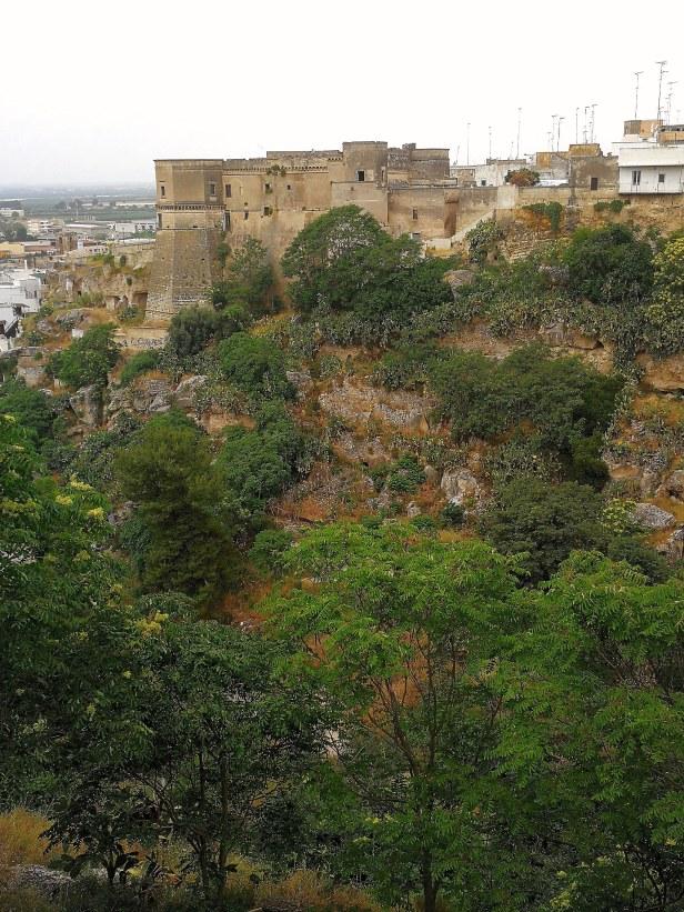 Massafra, castello longobardo.