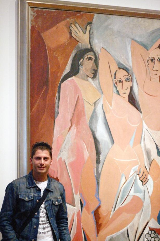 """2007 MoMa, Pablo Picasso """"Les Demoiselles d'Avignon""""."""