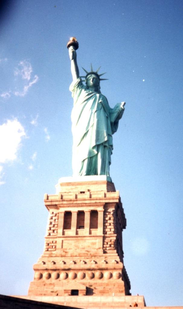 1996 Statua della Libertà.