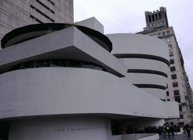 2016 Guggenheim Museum, Manhattan.