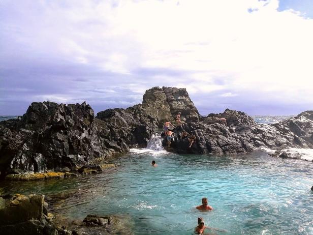 Conchi la piscina naturale, Arikok National Park.