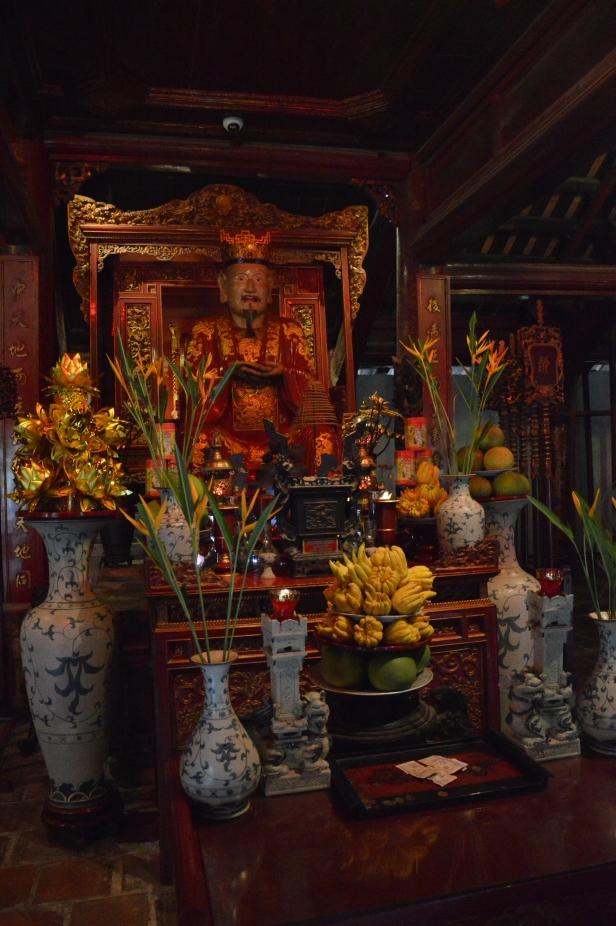 Interno tempio della letteratura, Hanoi.