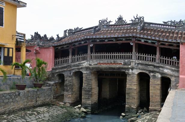 Il ponte pagoda giapponese (Chua Cau) di Hoi An.