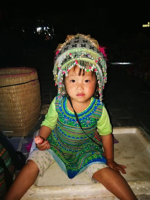 Sa Pa abiti tradizionali degli abitanti della vallata.Sa Pa abiti tradizionali degli abitanti della vallata.
