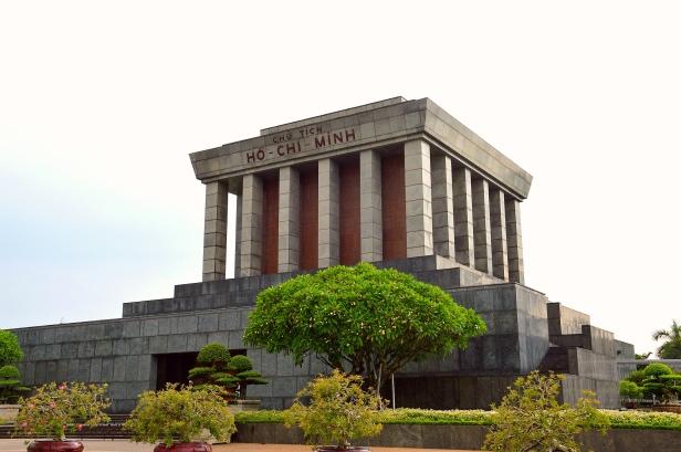 Mausoleo di Ho Chi Minh, Hanoi.