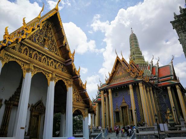 Wat Phra Kaew, Bangkok agosto 2019.