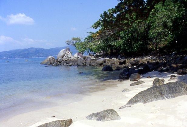 Paradise beach, Phuket, ottobre 2004.
