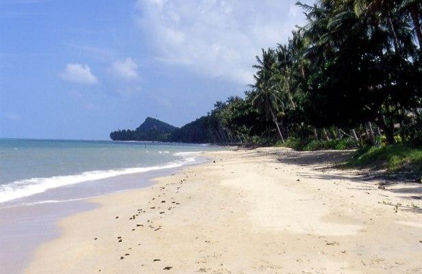 Bang po beach, Ko Samui, ottobre 2004.