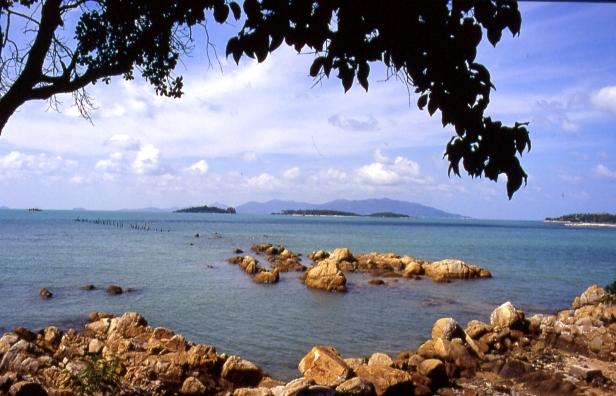 Lamai beach, Ko Samui.