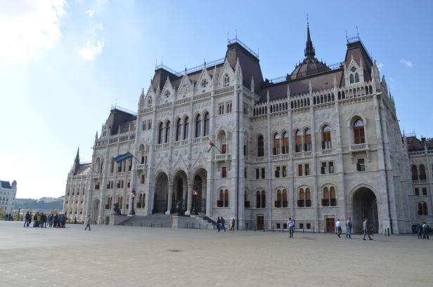 Palazzo del Parlamento Ungherese.