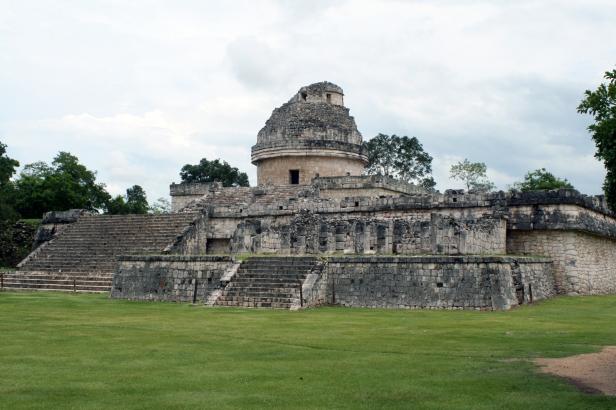 """""""El Caracol"""", Chichén Itzá."""