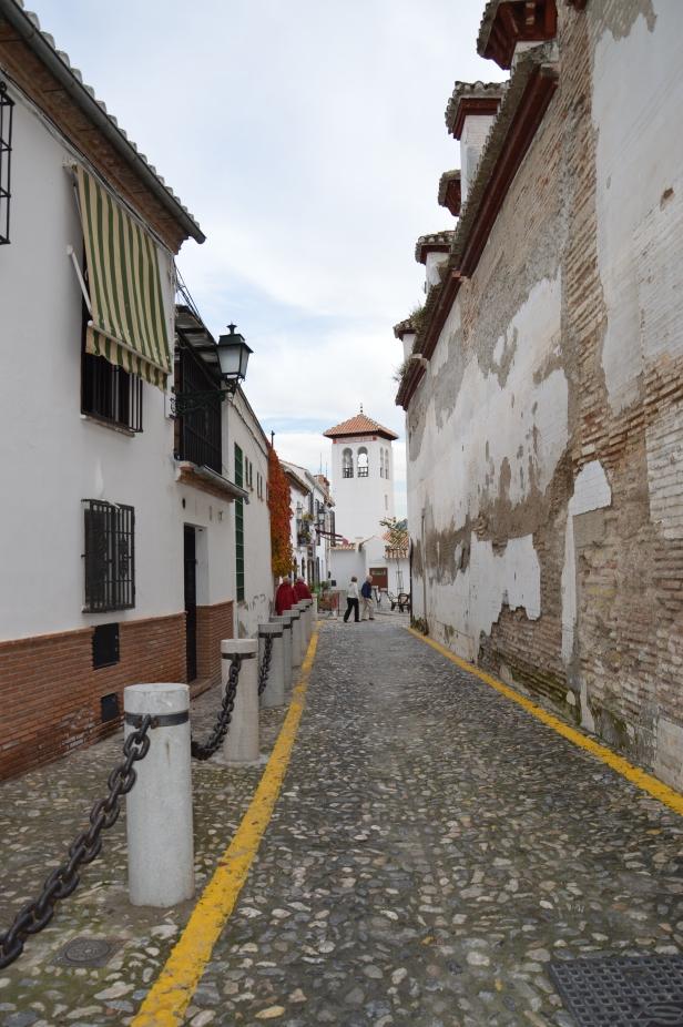 Vicolo verso il Mirador di S. Nicolás.