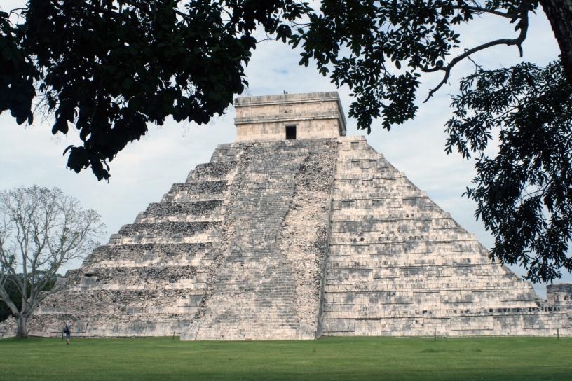 """""""Piramide di Kukulkan"""", Chichén Itzá."""