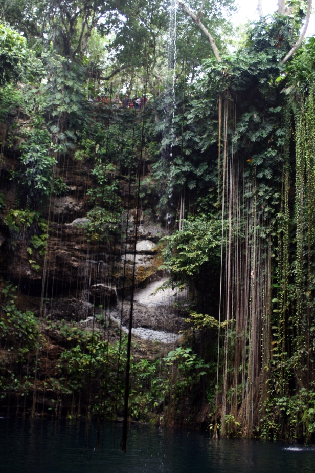"""Ik Kil cenote"", Chichén Itzá."