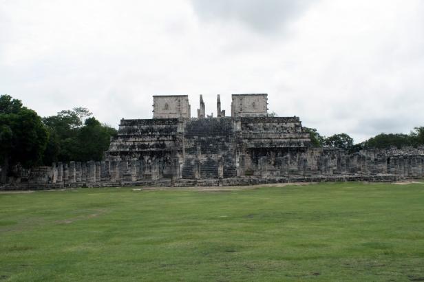 """Tempio dei guerrieri"", Chichén Itzá."
