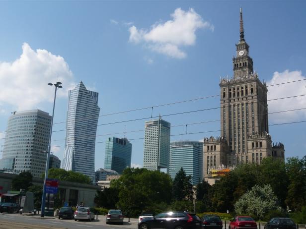 Centro finanziario della città.
