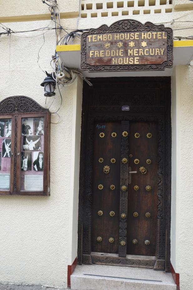 La casa natale di Freddie Mercury.