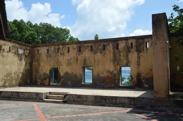 Prison island.