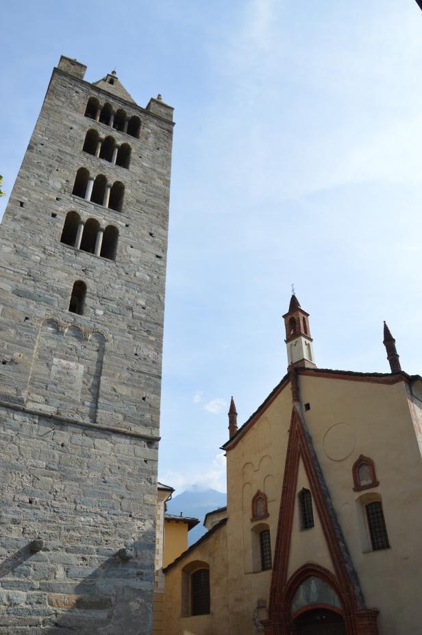Chiesa Collegiata dei Santi Pietro e Orso, Aosta.