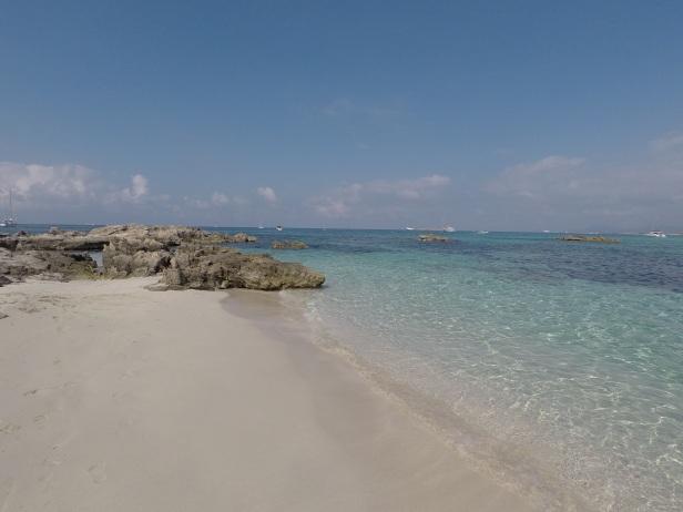 Spiaggia di Ses Illites, Formentera.