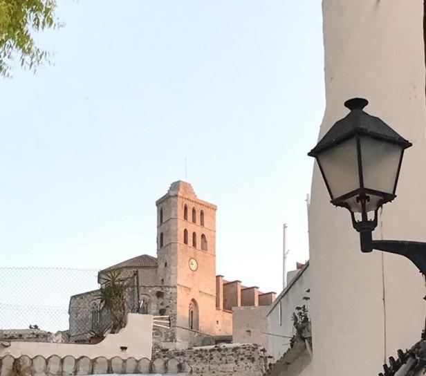 Campanile della Cattedrale della Vergine delle Nevi, Eivissa.