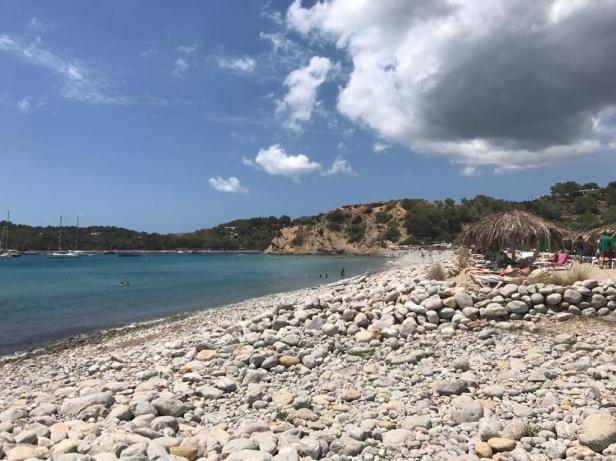 Playa Comte, Ibiza.