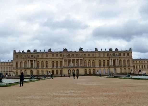 Castello di Versailles, come lo chiamano i francesi.