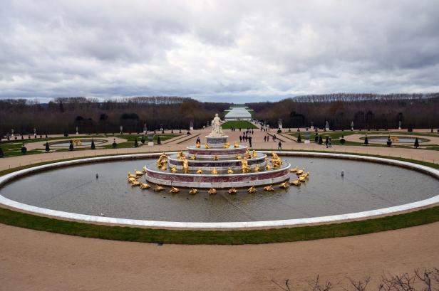 Giardini della Reggia di Versailles.