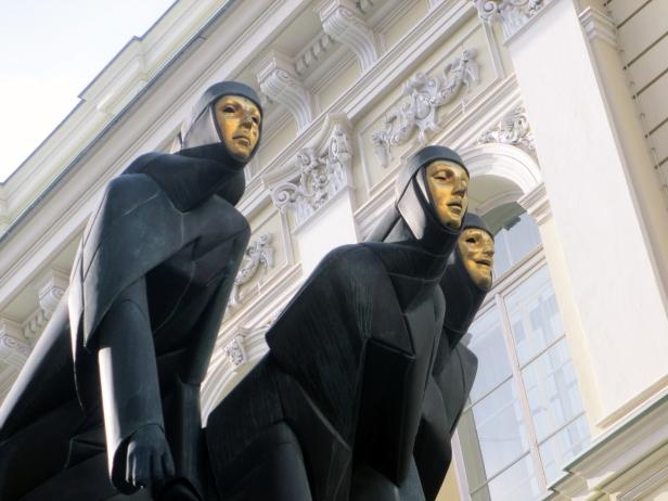 Ingresso Teatro Nazionale, Vilnius.