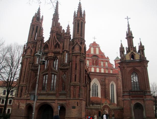 Chiesa cattolica di Sant'Anna, Vilnius.