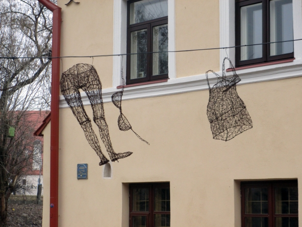Repubblica di Užupis, centro storico di Vilnius.