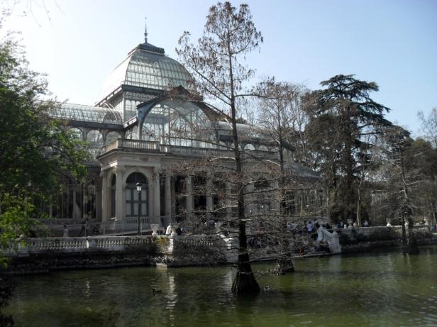Palazzo di Cristallo, Parco del Retiro.
