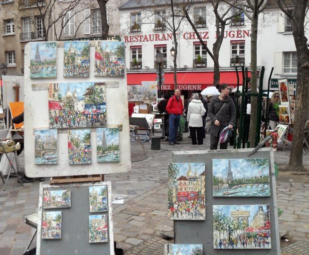 Quartiere di Montmartre.