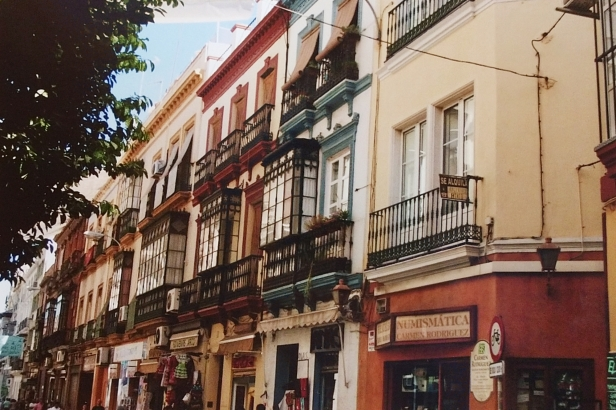 Barrio de Santa Cruz.