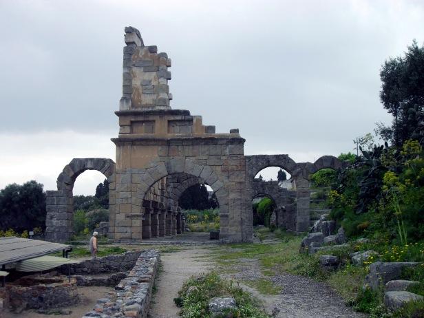 Basilica, parco archeologico di Tindari.