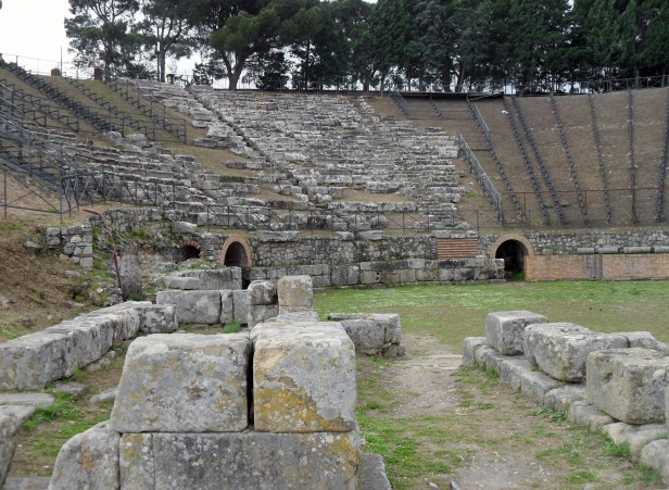 Teatro, parco archeologico di Tindari.