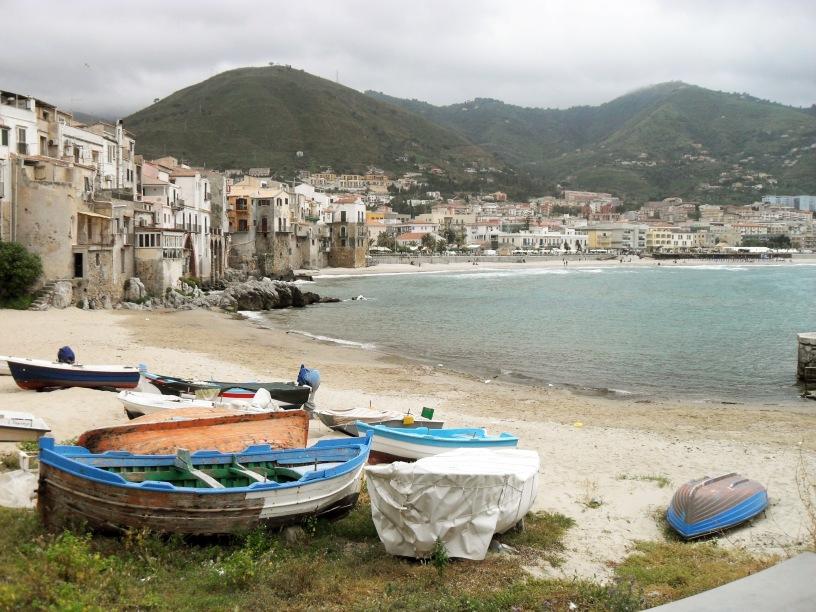 Spiaggia di Cefalù.