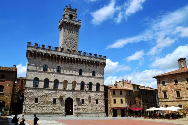 Montepulciano, Palazzo Comunale.