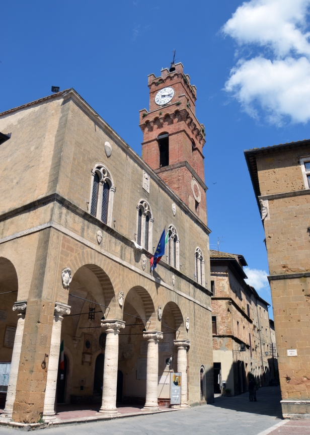 Palazzo Comunale, Pienza.