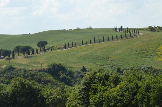 Val d'Orcia dalla Cappella della Madonna di Vitaleta.